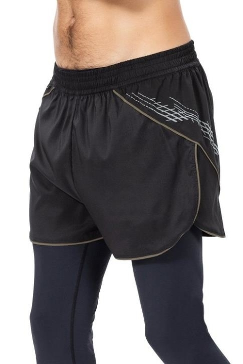 Imagem do Shorts Running Reconnect Preto Masculino - Live!