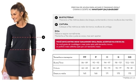 Blusa Free Action Mescla - Live! - loja online
