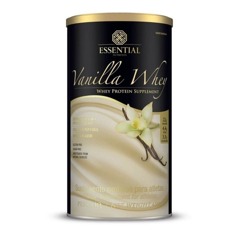 Vanilla Whey 450g - Essential Nutrition na internet