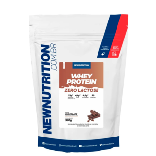 Whey Zero Lactose 900g Chocolate - NewNutrition