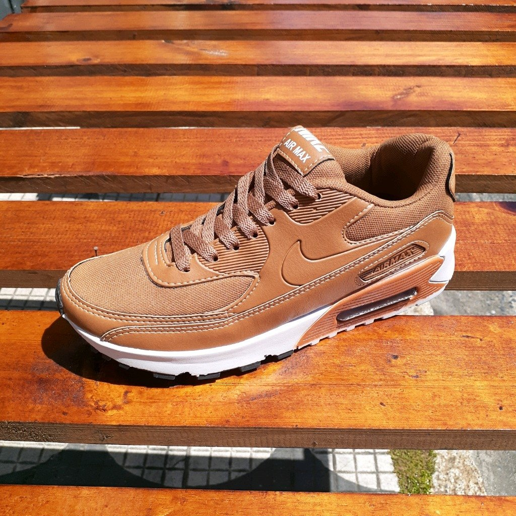 Lengua macarrónica limpiar manzana  Nike Air Max 90 Marrom - Comprar em Tenis Mogi