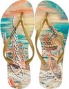 Chinelo Aloha Bike Chicca Morena