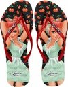 Chinelo Pin Up Jane Chicca Morena