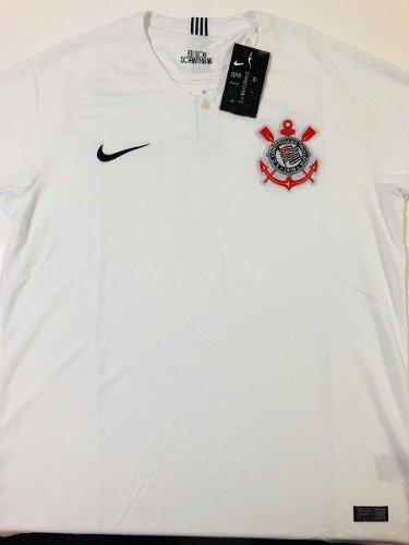 ... Camisa Corinthians 2018 2019 Jogador Oficial Frete Grátis - Golden  Soccer ... d2090e1c3eb93