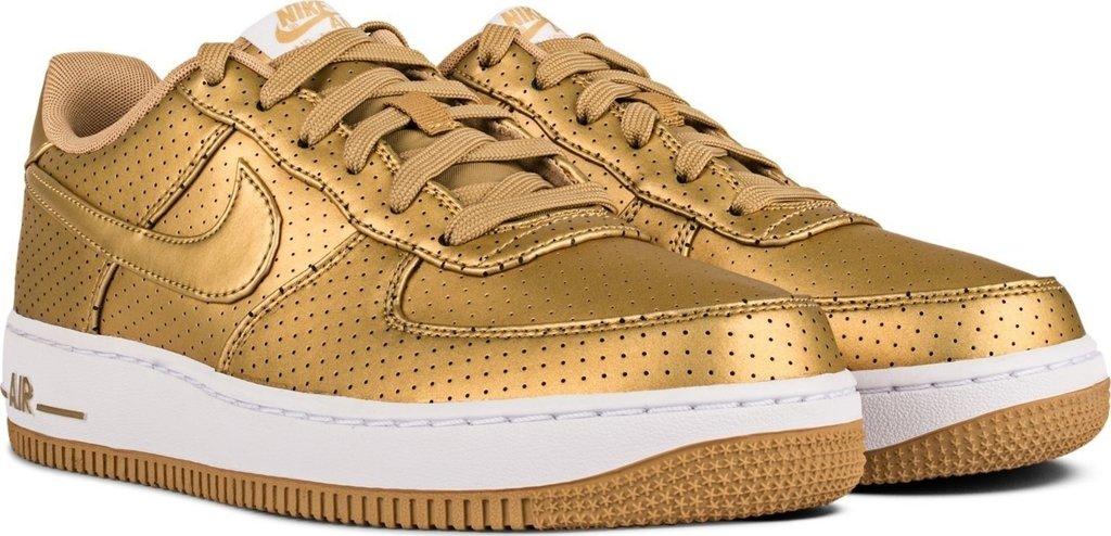 air force metallic gold