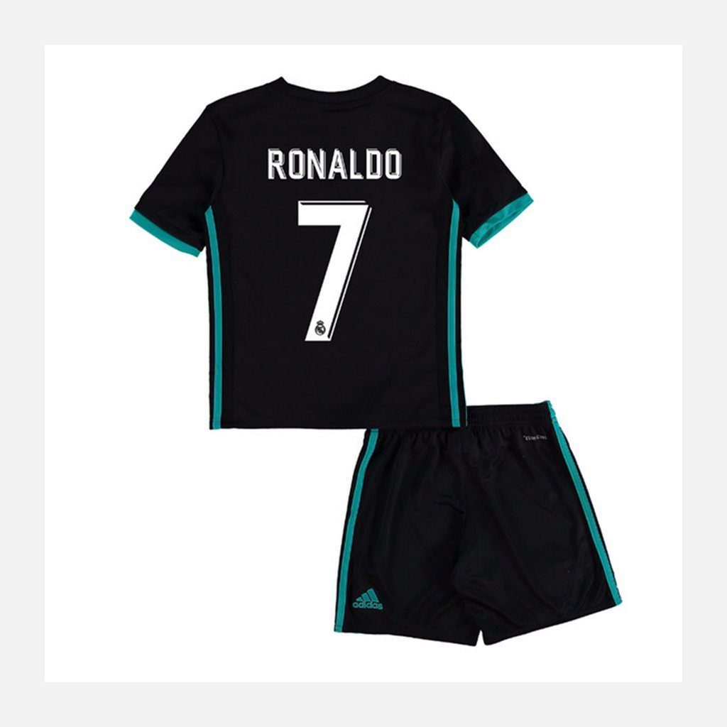 8064ba601f416 Kit Niños Real Madrid Camiseta Suplente + Short Cristiano17 18