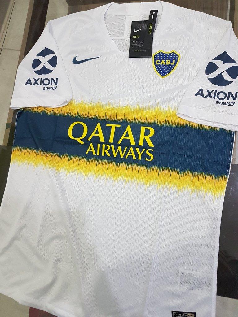 La base de datos Grupo bahía  Camiseta Nike Boca Juniors 18/19 Suplente Blanca