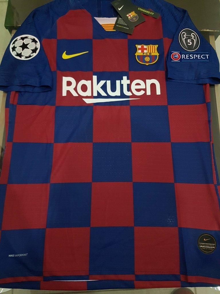 ensayo popular combinación  Camiseta Nike FC Barcelona Match Titular 2020 UCL Vaporknit