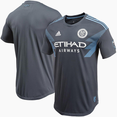 Camiseta adidas New York City CLIMACHILL Gris 2018 2019 MLS