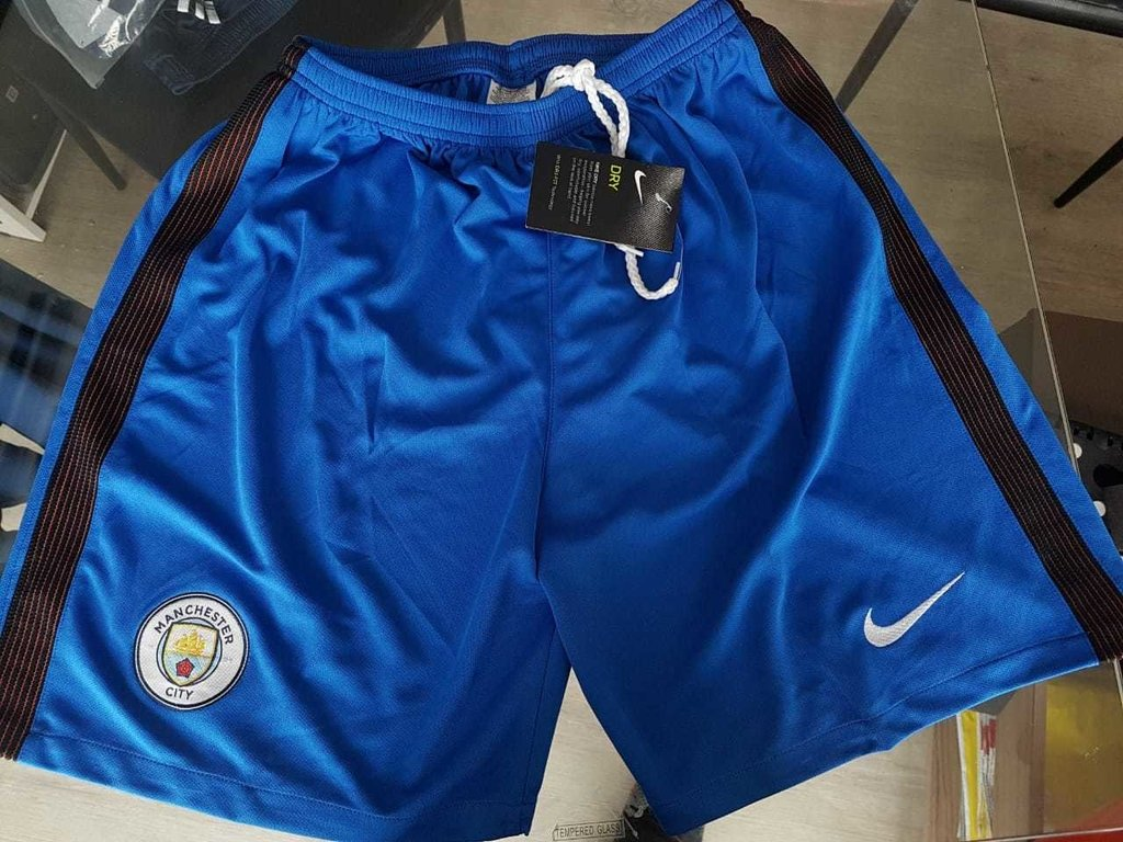 Short Nike Manchester City Azul 2016 2017