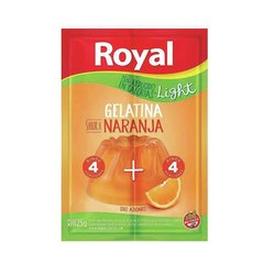 Gelatina de Naranja Light ROYAL 25 Gr