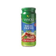 Salsa Fileto Light VANOLI 340 Gr