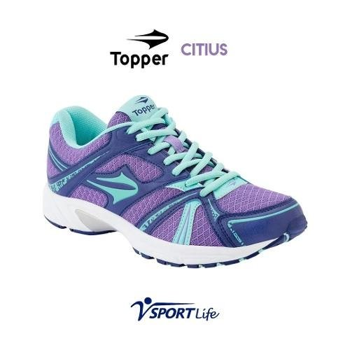 Zapatillas Topper Deportivas Dama Violetas