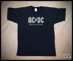 Remera ACDC Back in Black