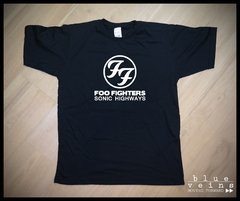 Remera Foo Fighters Sonic Highways