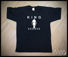 Remera Vikings  King Ragnar
