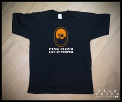 Remera Pink Floyd Live at Pompeii