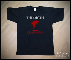 Remera GoT Stark The North Remembers