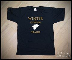 Remera GoT Stark Winter is Coming