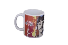 Caneca Cerâmica / Porcelana Beatles Faces 325ml na internet
