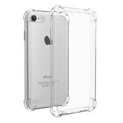 Capa anti impacto de silicone transparente Iphone 7 PLUS e Iphone 8 PLUS - Airbag nas quinas