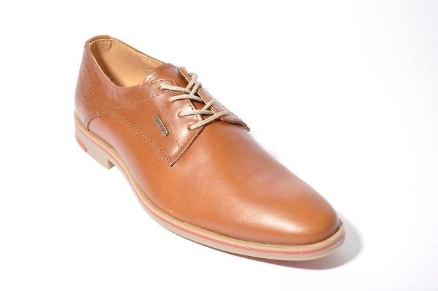 2de11321 ... Zapato Cuero Para Vestir Hombre Oxigeno Art: 150 Oferta ...