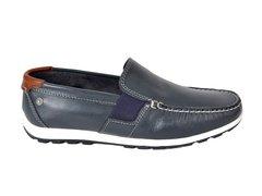 ... Zapato Mocasín Náutico Hombre De Cuero Ringo Turchi01 - comprar online ee378c45369