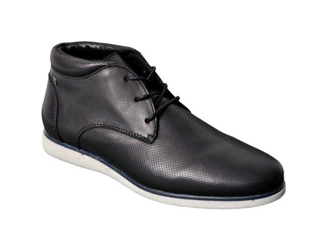 2eeb4c97 ... Zapato Bota Vestir Hombre Cuero Ringo Ares Livianos Invierno ...
