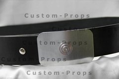 Imperial Officer - Leather Belt with Buckle - buy online