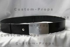 Imperial Officer - Leather Belt with Buckle - online store