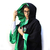 Cosplay Harry Potter Túnica Slytherin C/ Licencia Oficial