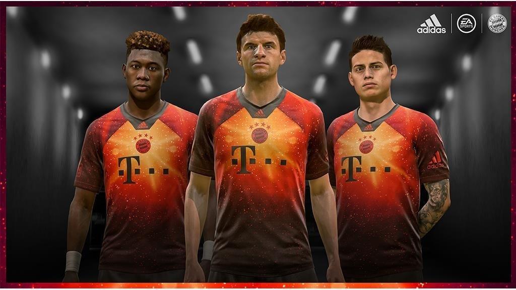 2f6ebbd3e4 Camisa do Bayern de Munique para o FIFA 19 Adidas EA Sports