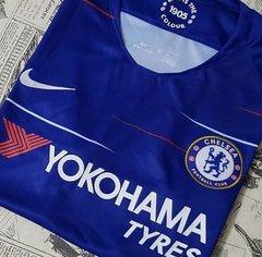 c91e8d9442 Camisa Chelsea Home 18 19 s n° Torcedor Nike Masculina - Azul