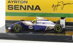 Miniatura Williams FW16 #2 F1 - Ayrton Senna - GP Brasil 1994 - 1/43 Minichamps
