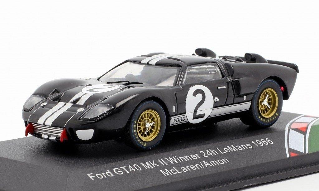 Miniatura Ford Gt40 Mk Ii 2 24h Le Mans 1966 1 43 Cmr