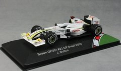 Brawn GP001 Jensen Button - GP do Brasil 2009 F1 - 1/43 CMR