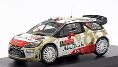 Citroën DS3 WRC #4 - Rally Monte Carlo 2015 - Sébastien Loeb - 1/43 Direkt Collections