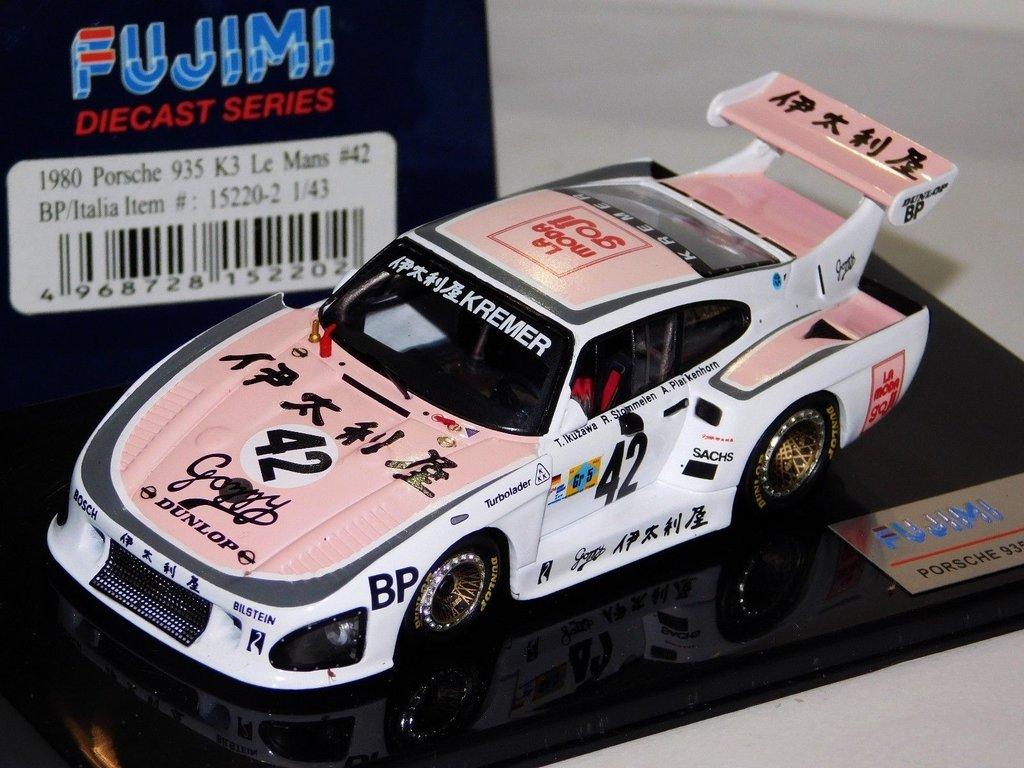 Miniatura Porsche 935 K3 42 Kremer Racing Le Mans 1980 1 43 Fuji