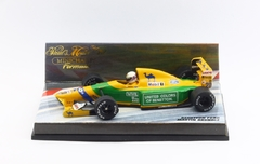 Miniatura Benetton B192 #20 F1 - M. Brundle 1992 - 1/43 Minichamps