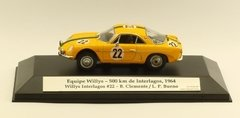 Willys Interlagos #22 - Equipe Willys  - 1/43 Custom - comprar online
