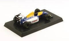 Miniatura Williams Renault FW15C #0 Hill - GP de Mônaco - 1/64 Aoshima
