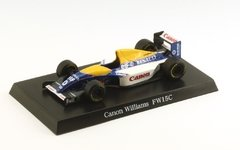 Miniatura Williams Renault Fw15c Hill - 1/64 Aoshima
