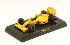 Miniatura Lotus 102 F1 #12 1990 - M. Donnelly - 1/64 Kyosho