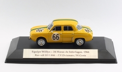 Miniatura Renault 1093 Equipe Willys #66 - 24hs Interlagos 1966 - 1/43 Custom