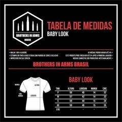 Camiseta Baby Look Guns and Coffee - comprar online