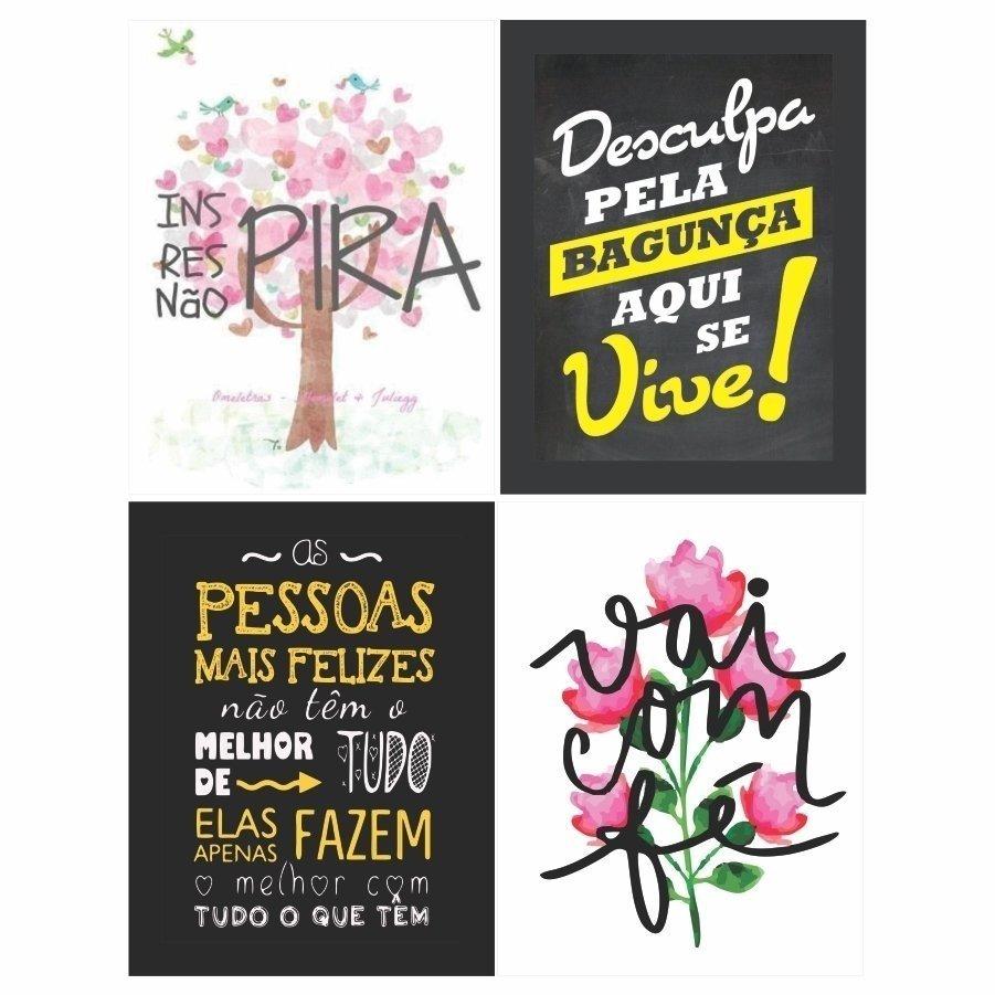 fbd2e3bf9 Quadros Frases divertidas Decorativo