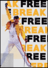 Quadro Freddie Mercury - Break Free