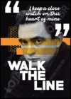 Quadro Johnny Cash - Walk The Line