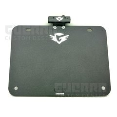 Suporte De Placa Inclinado M2 - Harley Davidson Sportster Iron 883 / Forty Eight 1200
