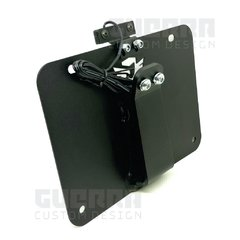 Suporte De Placa Inclinado M2 - Harley Davidson Sportster Iron 883 / Forty Eight 1200 - comprar online